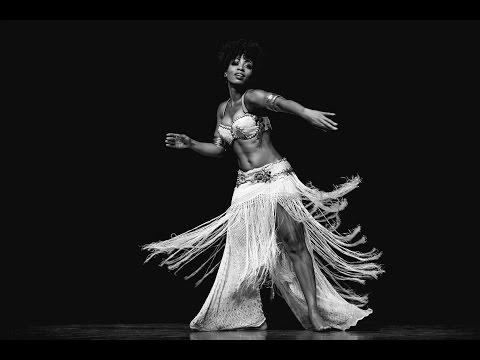 Dubstep Tribal Fusion Belly Dance - Ebony Qualls - New Delhi, India