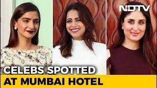 Celeb Spotting: 'Veere Di Wedding' Stars Sonam, Kareena, Swara & Shikha - NDTV