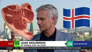 'Iceland boys have been eating meat for breakfast since they were kids' - world according to José - RUSSIATODAY
