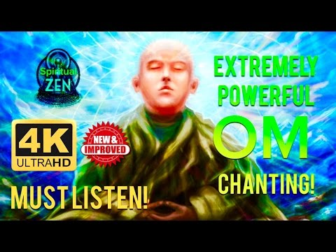 ☯THE MOST POWERFUL OM BUDDHIST MONK CHANTING!! MUST LISTEN! EXTREMELY HEALING - THETA BINAURAL BEAT☯