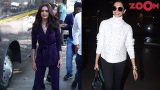 Esha Gupta's killer colour | Deepika Padukone nails her airport look & more | Style Today - ZOOMDEKHO