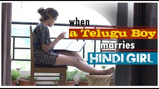 When a Telugu Boy marries Hindi Girl || latest telugu short film || Gv Ideas - YOUTUBE