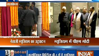 PM Modi inaugurates Subhash Chandra Bose Museum at Red Fort - INDIATV