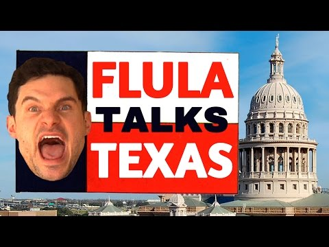 Flula Borg&#39;s Hilarious Austin, Texas Interview!