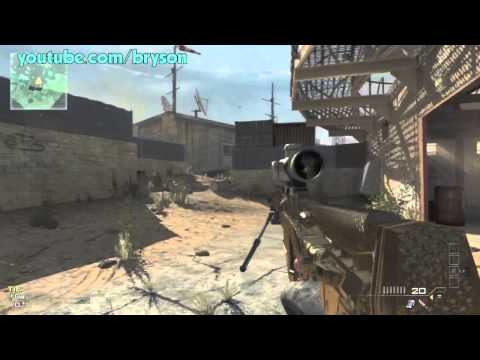 WEIRD GUN GLITCH MW3 (Tutorial PS3 & XBOX)