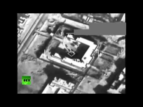 Video: Así destruyó EE.UU. dos objetivos del Estado Islámico en Siria