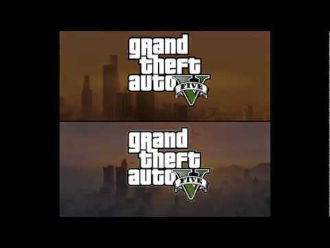Grand Theft Auto V Trailer - San Andreas Remake (splitscreen)