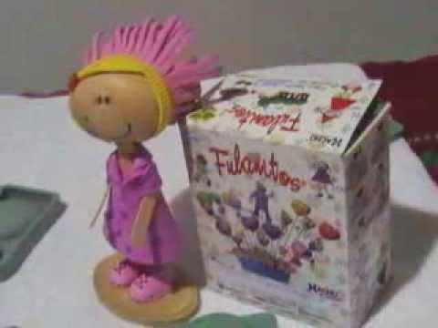 Moldes para hacer caritas de muñecos en goma eva