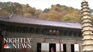 How a Thousand Year-Old Buddhist Temple Shapes North Korea | NBC Nightly News - NBCNEWS