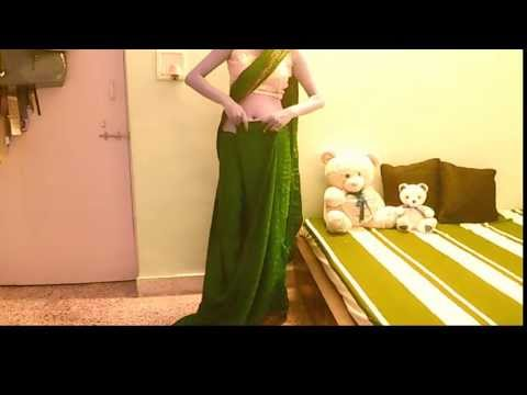 How To Wear Saree As Fashionista And Look Thin/Sari Draping/Carry Saree/Sari Wrap/Tutorial