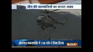 Operation Gagan Shakti: Defence Minister Nirmala Sitaraman take stock of IAF war exercise - INDIATV