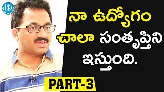 Bhaagamathie Director G Ashok Exclusive Interview - Part #3     Talking Movies With iDream - IDREAMMOVIES