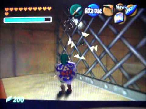 let play the legend of ocarina of time premiere partie du donjon de l'esprit