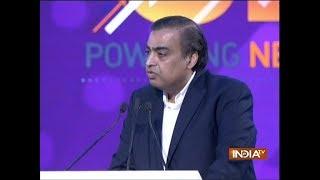UP Investors Summit 2018: RJio to invest Rs 10,000-cr in 3 years, announces Mukesh Ambani - INDIATV