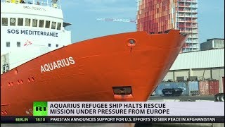 Last Mediterranean refugee rescue ship Aquarius ends operations - RUSSIATODAY