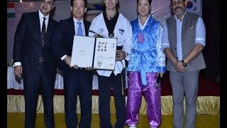 Tiger Shroff honoured with 5th degree black belt - IANSINDIA
