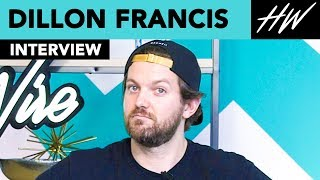 Dillon Francis Calls Calvin Harris And Says No Beef With DJ Snake | Hollywire - HOLLYWIRETV