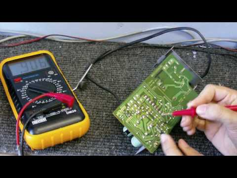 CDC Electronc Workshop S2 EP 1 - Fixing the Ferguson videostar VCR pt 1 - Testing the power supply.