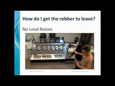Armed Robbery Awareness Training Program with Tony Gallo and Sam White