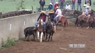 Coleaderos en Refugio de los Pozos (Sombrerete, Zacatecas)