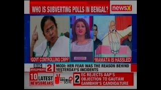 Narendra Modi vs Mamata Banerjee: Who is subverting polls in West Bengal? Elections 2019 - NEWSXLIVE