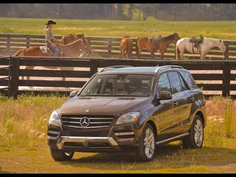 2012 Mercedes-Benz ML350 BlueTEC - Drive Time Review with Steve Hammes