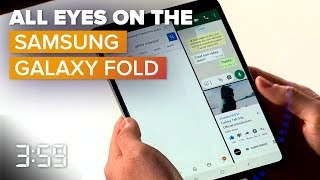 All eyes on the Samsung Galaxy Fold (The 3:59, Ep. 523) - CNETTV