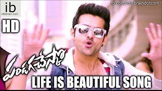 Pandaga Chesko - Life is beautiful song - idlebrain.com - IDLEBRAINLIVE