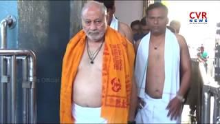 PM Narendra Modi Brother Prahlad Modi Visits Vemulawada Rajarajeshwari Temple | Telangana | CVR News - CVRNEWSOFFICIAL