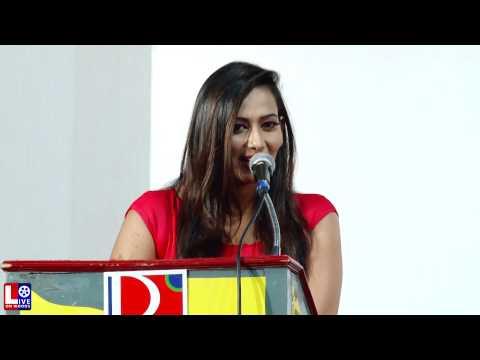 Actress Sanjana Singh Speech @ Meaghamann Movie Success Meet