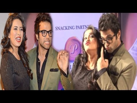 Love Birds Rithvik Dhanjani & Asha Negi @ 7th Boroplus Gold Awards 2014