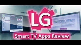 Обзор приложений для LG Smart TV - e08. Megogo.net