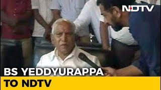 BS Yeddyurappa Says Son Vijayendra Won't Contest From Varuna - NDTV