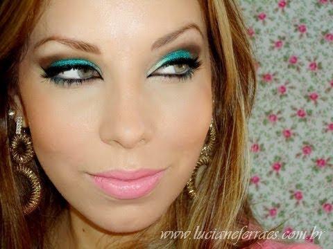 Maquiagem Ano Novo Colorido, com Luciane Ferraes