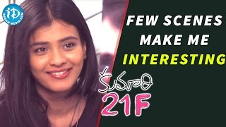 Few Scenes Make Me Interesting - Kumari 21F Actress Hebah Patel || Talking Movies with iDream - IDREAMMOVIES