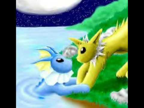 Vaporeon and Jolteon - Could this be love