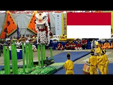 2014 INTERNATIONAL LION DANCE COMPETITION - INDONESIA