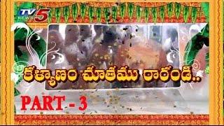 Sri Vari Brahmotsavam at Sunkishala Part - 3 : TV5 News - TV5NEWSCHANNEL