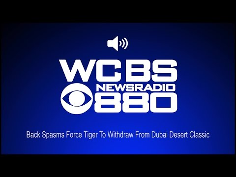 Back Spasms Force Tiger To Withdraw From Dubai Desert Classic (Audio)