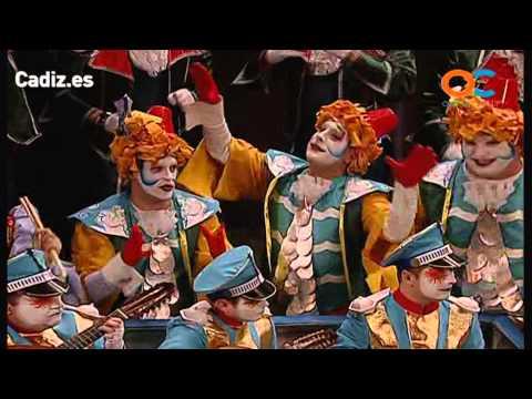 Sesión de Preliminares, la agrupación El circo del sol actúa hoy en la modalidad de Coros.