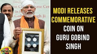 PM Modi Releases Commemorative Coin on Guru Gobind Singh | PM Modi Latest News | Mango News - MANGONEWS