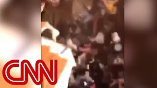 Floor collapses at Clemson homecoming party - CNN