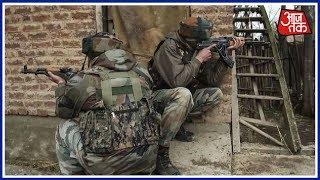 Srinagar मुठभेड़ में तीन आतंकी ढेर; पुलिस का एक जवान भी शहीद - AAJTAKTV
