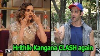Hrithik-Kangana CLASH again | Manikarnika Vs Super 30 - IANSINDIA