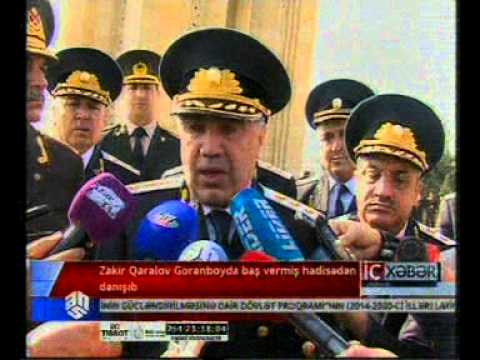 Zakir Qaralov Goranboyda baş vermiş hadisədən danışıb