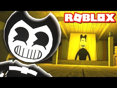 BENDY AND THE INK MACHINE IN ROBLOX