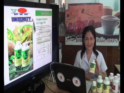 Product Knowledge Sharing by Sasha Roekwan in Thai Language. Featuring DXN Spirulina.
