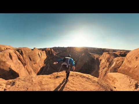Garmin VIRB 360: Base Jumping near Moab