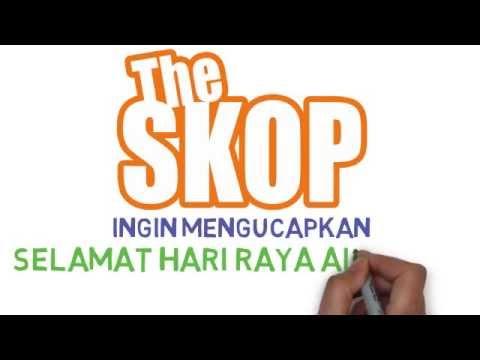 Ucapan Hari Raya Aidilfitri dari The Skop