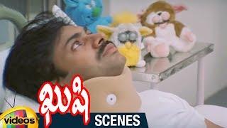 Pawan Kalyan Meets with an Accident   Kushi Telugu Movie Scenes  Bhumika   Ali   Mango Videos - MANGOVIDEOS
